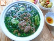 Bếp Eva - Canh cáy nấu rau đay mướp hương