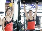 Làm đẹp - Đột nhập phòng gym xem Á hậu Thiên Lý luyện tập