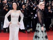 Thời trang - Củng Lợi khoe đường cong hoàn hảo ở tuổi 51 trên thảm đỏ LHP Cannes