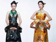 Ảnh đẹp Eva - Linh Nga đẹp quyền quý, đài các với áo dài