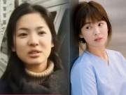 Làng sao - Lộ clip Song Hye Kyo đẹp giản dị thời trung học