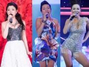 Đọ váy áo của 3 ca sĩ sinh năm 1977 đình đám Vbiz