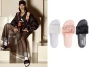 Thời trang - Dép lê đính lông của Rihanna cháy hàng sau 13 ngày lên kệ