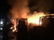 Tin tức - Cháy lớn ở dự án thép Vạn Lợi tại Vũng Áng