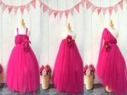 Làm mẹ - Mẹ Việt tự tay làm váy công chúa cho con chỉ với 100 nghìn đồng