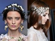 Làm đẹp - Những kiểu tóc tuyệt đẹp cho cô dâu mùa hè