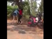 Nữ sinh ở Hội An đánh nhau dã man gây xôn xao