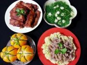 Món ngon nhà mình - Bữa cơm nhiều món hấp dẫn - MN18306