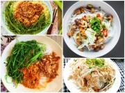 Bếp Eva - Các món mì, bún, phở trộn ngon cho bữa sáng