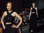 Thời trang - Vóc dáng một con, HH Diễm Hương vẫn tự tin catwalk