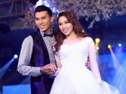 Thời trang - Quỳnh Thư mặc váy cưới thon gọn bên Ngọc Tình