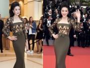Thời trang - Lý Nhã Kỳ đẹp tựa nữ thần chinh phục thảm đỏ Cannes