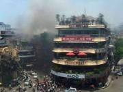 Tin tức - Cháy lớn gần Hồ Gươm, cả khu phố náo loạn