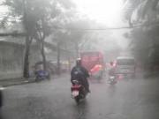 Tin tức - Mưa mù trời kèm lốc xoáy ở Sài Gòn
