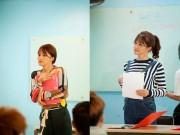 Làng sao - Hương Giang Idol làm cô giáo thực tập đáng yêu