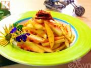 Bếp Eva - Gỏi cùi dưa hấu xoài xanh siêu hấp dẫn