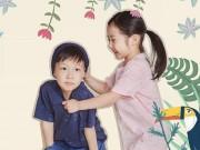 Làng sao - Cặp sinh đôi nhà Lee Young Ae càng lớn càng đáng yêu