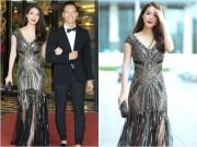 Làng sao - Trương Ngọc Ánh đẹp đôi sánh bước bên Kim Lý ở Trung Quốc