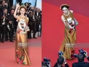 Thời trang - Angela Phương Trinh khôn khéo chọn đồ tại Cannes