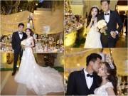Làng sao - Quang Tuấn - Linh Phi ngọt ngào hát trong đám cưới lãng mạn