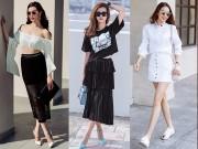 Thời trang - Học cách mix chân váy điệu nghệ như sao Việt
