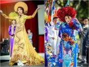 Làng sao - HH Jennifer Chung lộng lẫy với áo dài rồng phượng