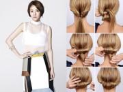 Làm đẹp - 5 kiểu tóc búi mùa hè cho chị em U30 ăn gian tuổi