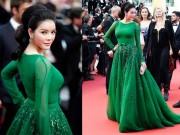 Thời trang - Lý Nhã Kỳ hóa công chúa tóc mây trên thảm đỏ Cannes