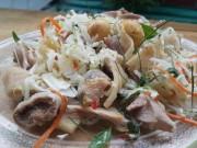 Clip Eva - Học đầu bếp Sơn Nga cách làm gỏi gà nức tiếng Sài Gòn