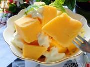 Bếp Eva - Kem dưa vàng mát lạnh ngày hè