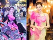 """Làng sao - Hoa hậu Diễm Hương, Trúc Diễm  """" đọ """"  nhan sắc với áo dài"""