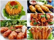 Bếp Eva - 5 món ăn ngon và dễ nấu từ tôm