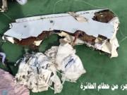 Tin tức - Hình ảnh đầu tiên về mảnh vỡ của máy bay Ai Cập rơi