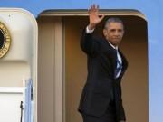 Tin tức - 0h10 đêm nay, chuyên cơ của Obama hạ cánh xuống Nội Bài