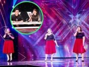 """Làng sao - 3 cô gái """"mũm mĩm"""" khiến giám khảo X-Factor loại nhóm trai đẹp"""