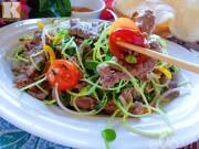 Bếp Eva - Thịt bò trộn cải xoong đơn giản mà ngon
