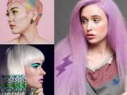 Làm đẹp - Hoa mắt với mốt tóc màu sắc đang mê hoặc phái đẹp