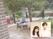 Làng sao - Lộ ảnh hiếm hoi trong đám cưới của Goo Hye Sun