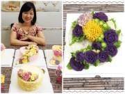 Bếp Eva - Món xôi hoa độc đáo thu hút hàng nghìn chị em nội trợ