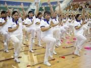 Tin tức sức khỏe - Thể dục dưỡng sinh người cao tuổi xác lập kỷ lục Việt Nam