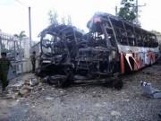 Tin tức - Vụ cháy xe 12 người chết: Tài xế ăn bún khi đang chạy xe