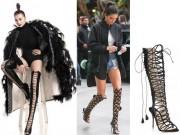 Thời trang - Rộ cơn sốt đôi giày giúp chị em ăn gian chiều cao