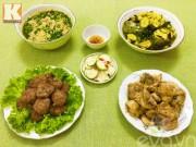 Bếp Eva - Bữa cơm hấp dẫn cho ngày mát mẻ