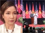 Làng sao - Mỹ Linh nhớ bố khi hát trước Tổng thống Mỹ Obama