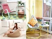 Nhà đẹp - Muôn kiểu ghế thư giãn rẻ mà sặc sỡ cho mùa hè