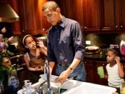 Tin tức - Barack Obama: 'Công việc Tổng thống giúp tôi làm cha tốt hơn'
