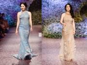 Thời trang - Lệ Quyên, Thu Phương tự tin trong lần đầu làm người mẫu