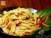 Bếp Eva - Cách làm nem tai và thính gạo rang thơm nức