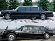 """Tin tức - So sánh xe """"Quái thú"""" của Obama và siêu xe của Putin"""