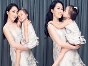 Làng sao - Con gái Linh Nga hào hứng làm mẫu ảnh cùng mẹ